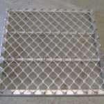 Aluminium gratings and grills