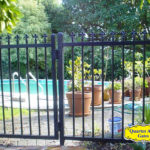 Fence Style Colonial Pool