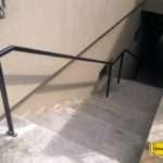 Handrail with Staunchings