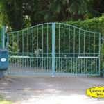 Driveway Gates Style Custom Based on DG22